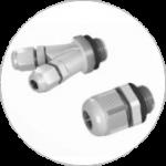 Austauschbare Kabelverschraubung: 2-Leiter, 3-Leiter