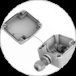 Gehäuse: Schutzart IP65 mit befestigtem Deckel und thermischer Entkopplung