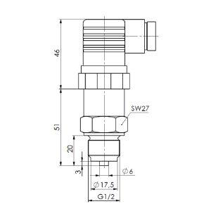 Drucktransmitter ANDDT1-2