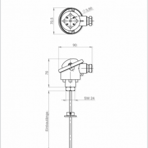 HOCHTEMPERATURFUHLER-ANDHTFB1 MU-2