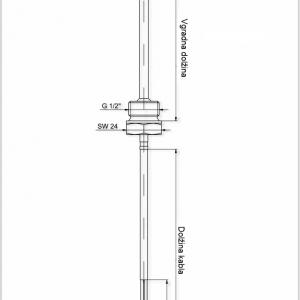 Modbus Einschraubfühler G12 ANDESF-MD 2