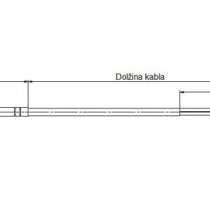 Modbus Kabeltemperaturfühler ANDKBTF-MD 2