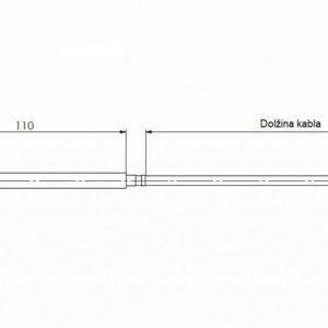 Modbus Raumpendeltemperaturfühler ANDRPF-MD 2