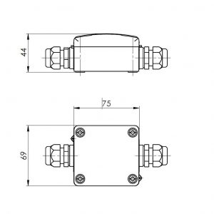Modbus Temperaturmessumformer für PT1000 ANDMDG 2